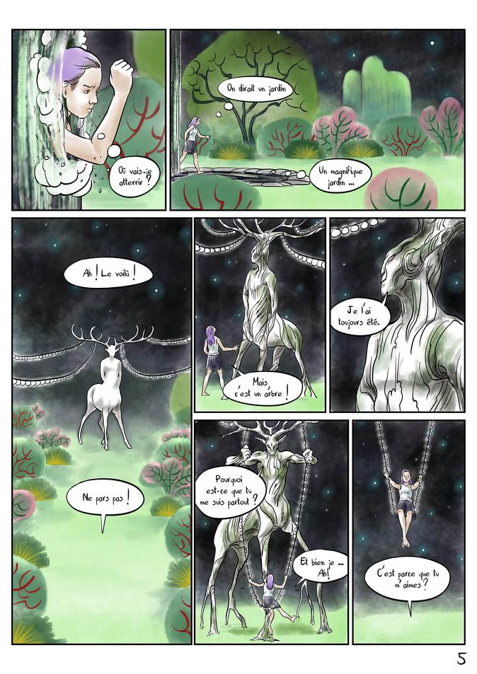Page 5 Bande dessinée voyage par McFly-Illustration
