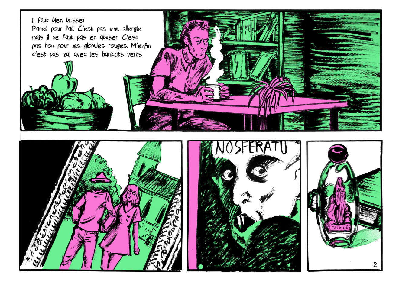 BD vampire extrait02 by McFly-Illustration