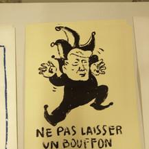 Ne pas laisser un bouffon faire diversion by McFly-illustration