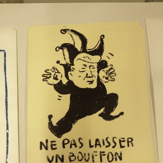 Ne pas laisser un bouffon faire diversion by McFly-illustration