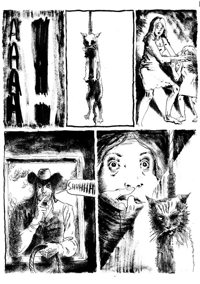 BD horreur cauchemar pour Nuit Noire extrait02 by McFly-Illustration