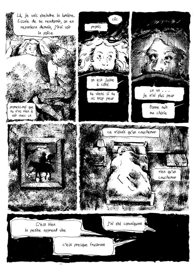 BD horreur cauchemar pour Nuit Noire extrait03 by McFly-Illustration