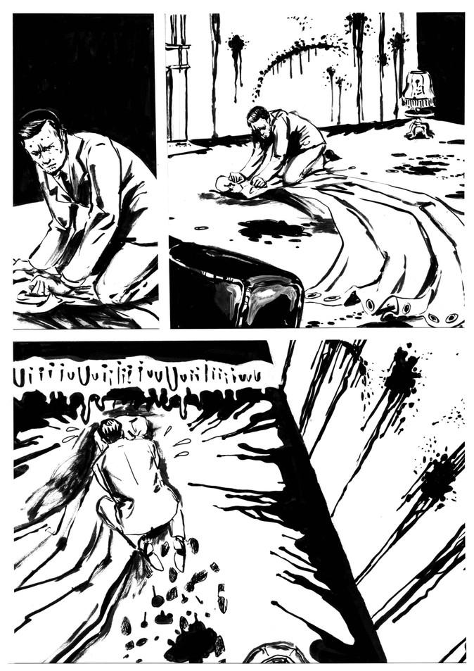 BD Film noir extrait02 by McFly-Illustration
