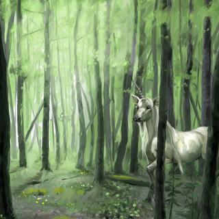 Licorne ancestrale by McFly-Illustration