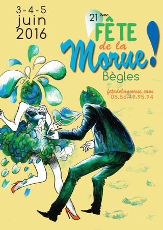 Affiche Fête de la Morue by McFly-illustration