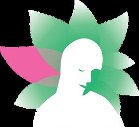 Logo dessin vectoriel bien-être fleur rose by McFly-illustration