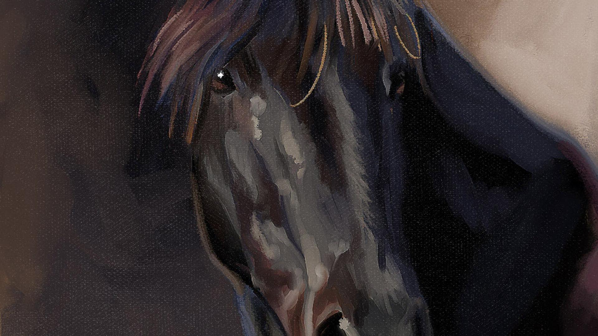 Portrait cheval personnalisé