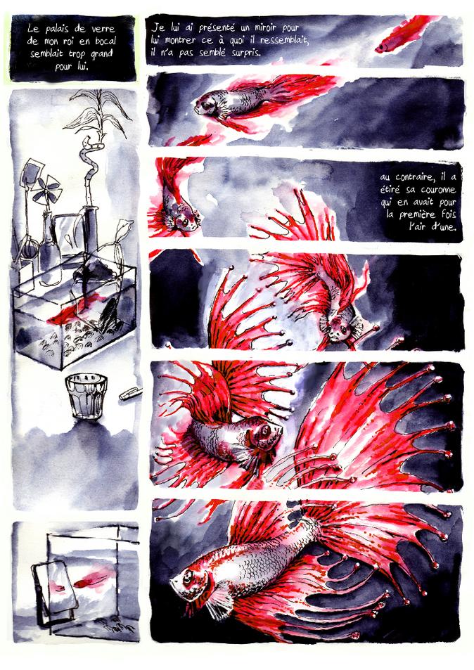 BD poisson vampire pour Nuit Noire extrait03 by McFly-Illustration