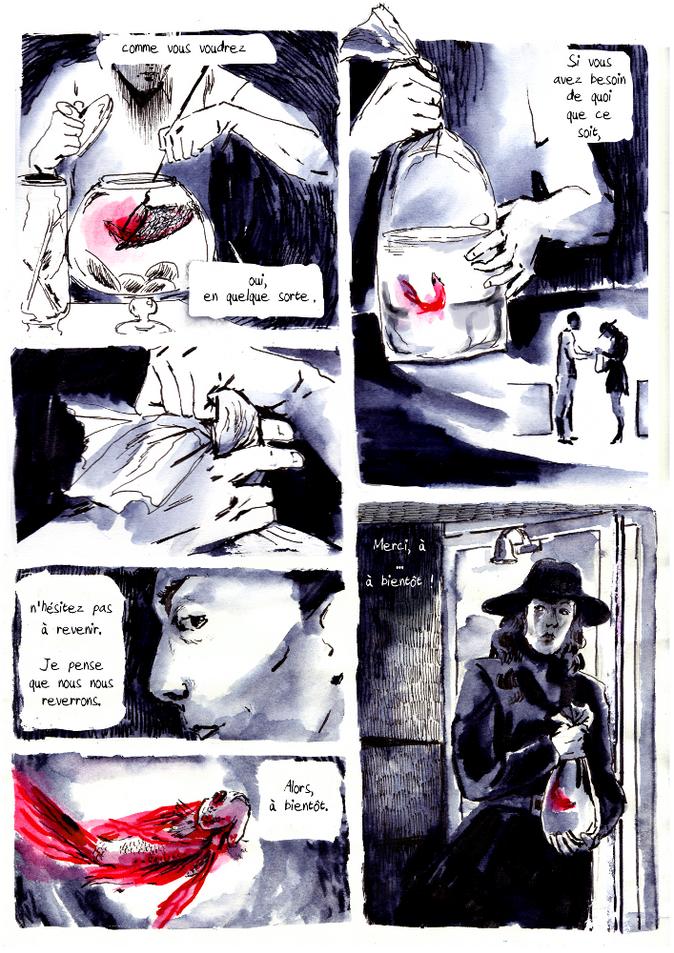 BD poisson vampire pour Nuit Noire extrait01 by McFly-Illustration