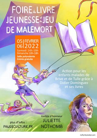 Salon du livre jeunesse et du jeu de Malemort