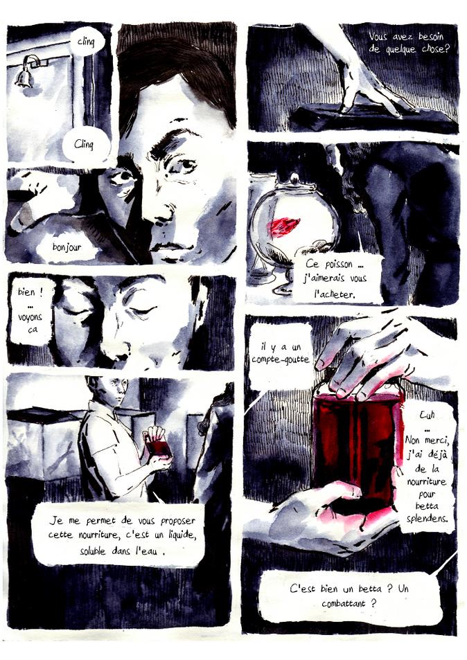 BD poisson vampire pour Nuit Noire extrait02 by McFly-Illustration