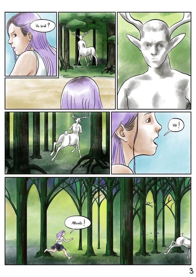 Page 3 Bande dessinée voyage par McFly-Illustration