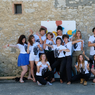 Photo de groupe - Estivales de l'illustration Sarrant