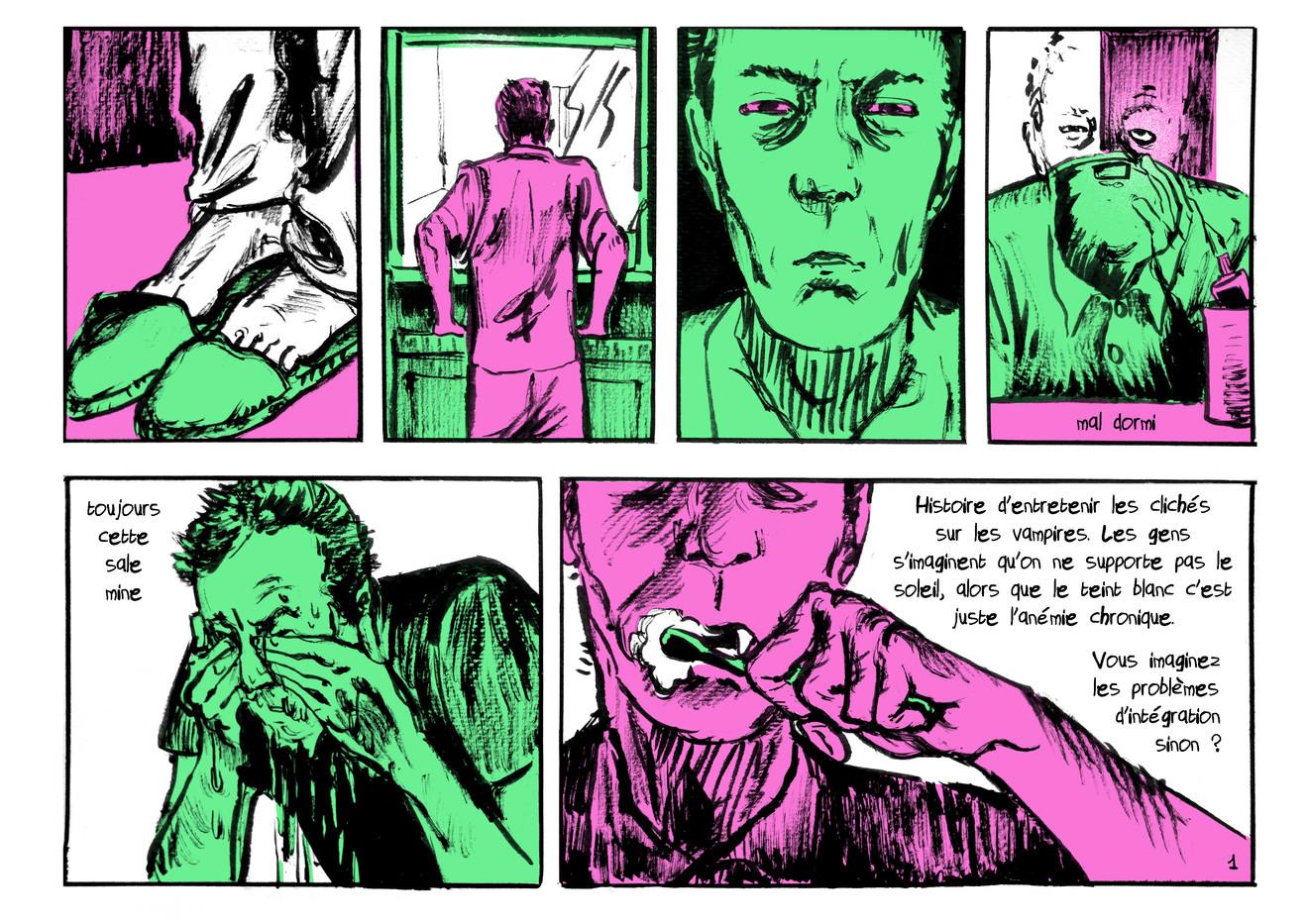 BD vampire extrait01 by McFly-Illustration