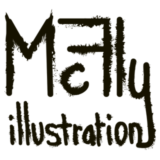 Logo dessin vectoriel signature by McFly-illustration