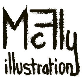 Logo dessin vectoriel signature by McFly-illustration