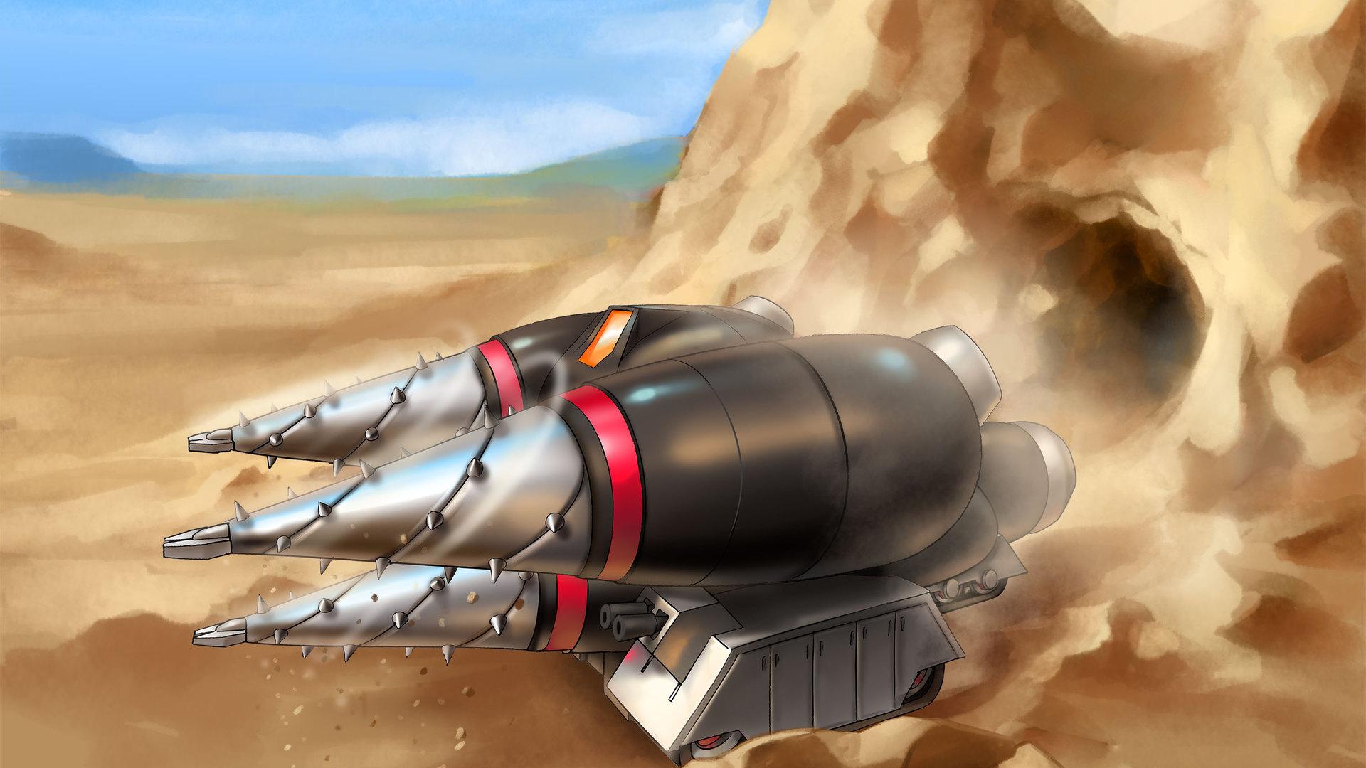 Time Lapse Magma Mole