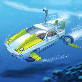 Shark by McFly-Illustration