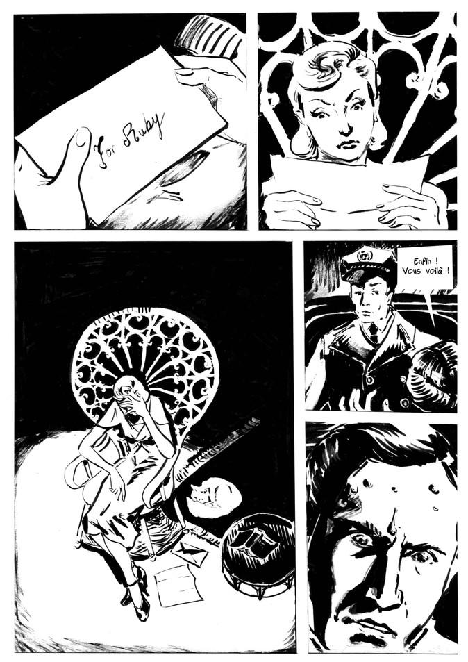 BD Film noir extrait01 by McFly-Illustration