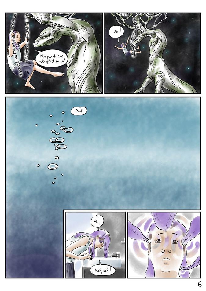 Page 6 Bande dessinée voyage par McFly-Illustration