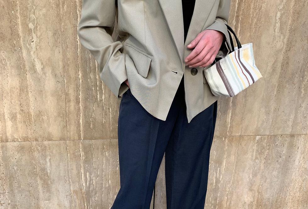 Belted Cropped Jacket