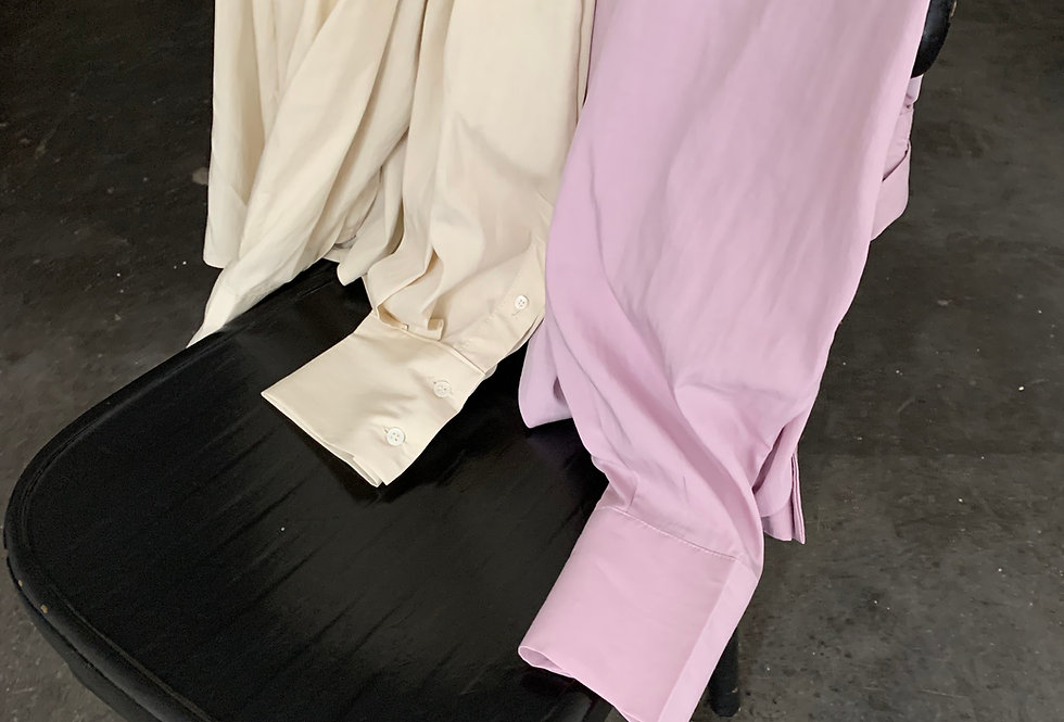 Double Button Shirt (2colors)