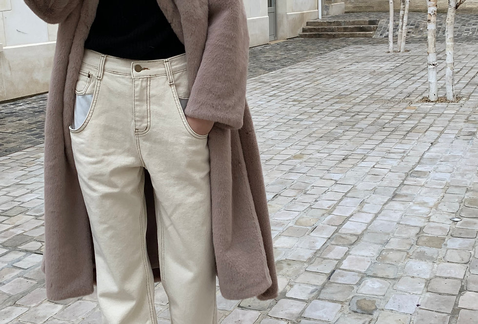 Deep front pocket trousers