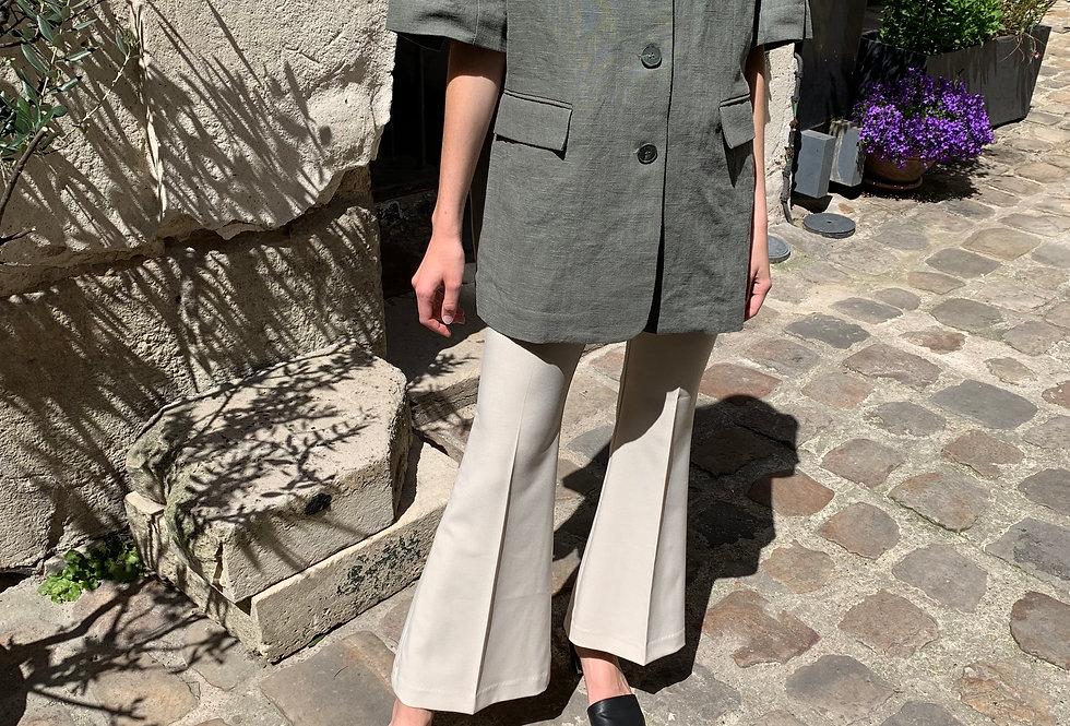 Oversized Linen Jacket