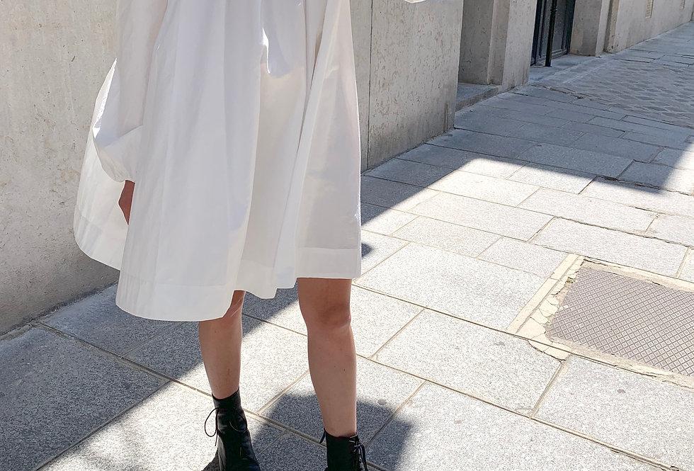 Pintuck Dress (2colors)