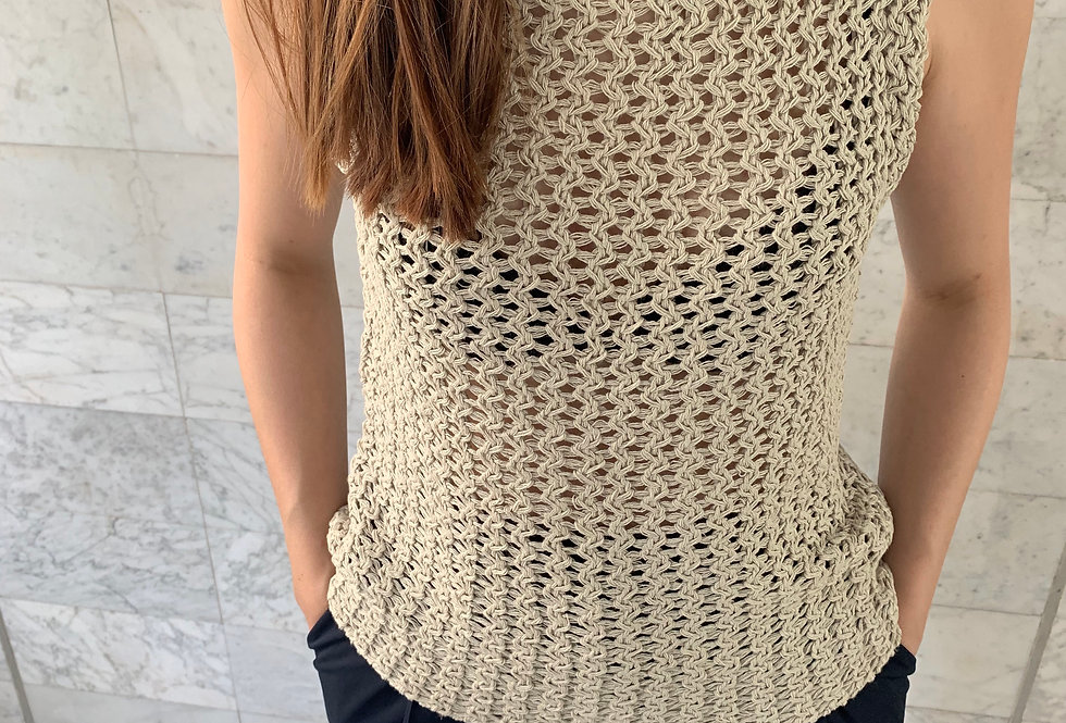 Knitting Pattern Top (2colors)