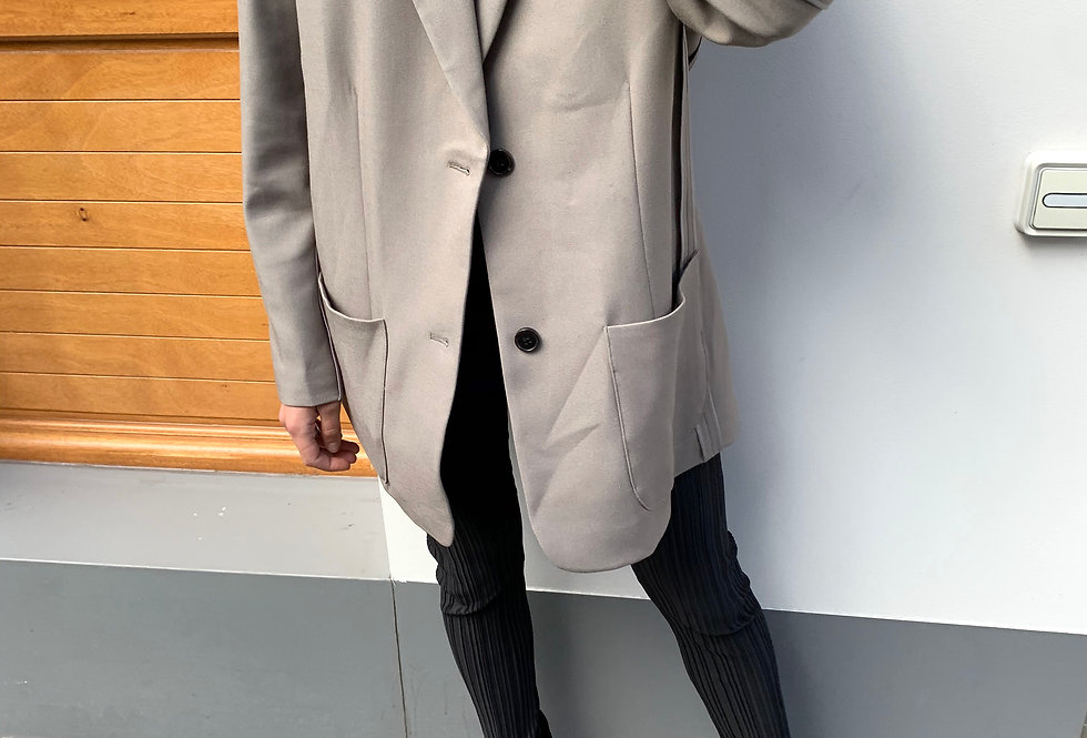 Oversized Inside-out Blazer (2colors)