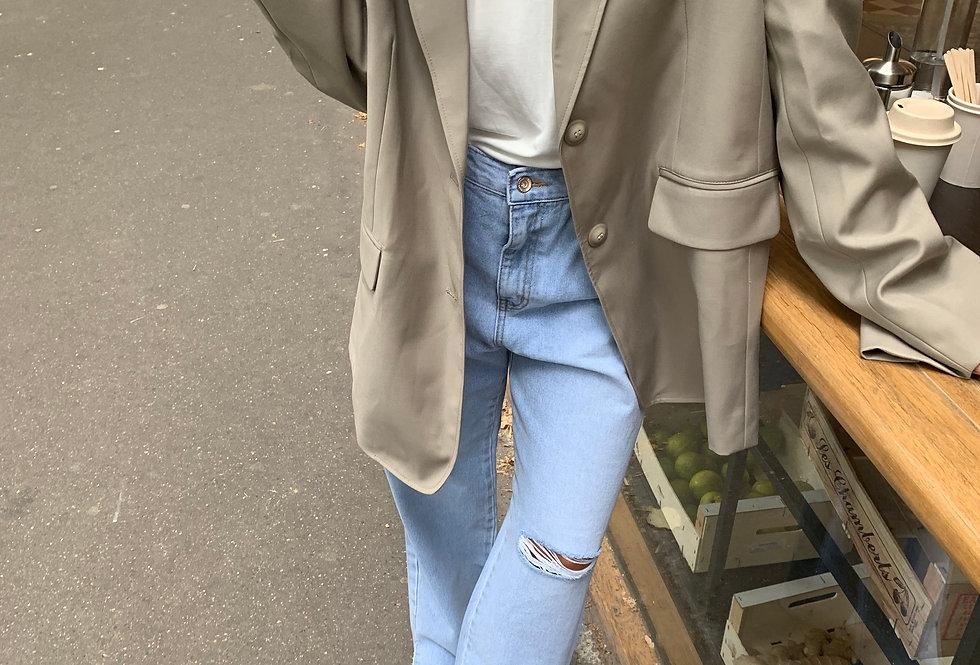 Long Oversized Blazer (2colors)