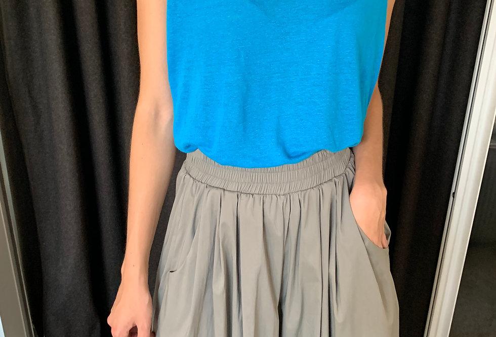 Linen Sleeveless Top (2colors)
