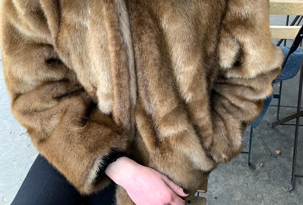 Faux Mink Fur Jacket