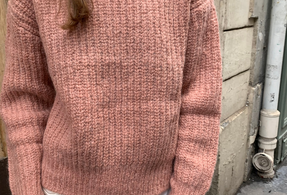Mohair Cosy-Pink Jumper