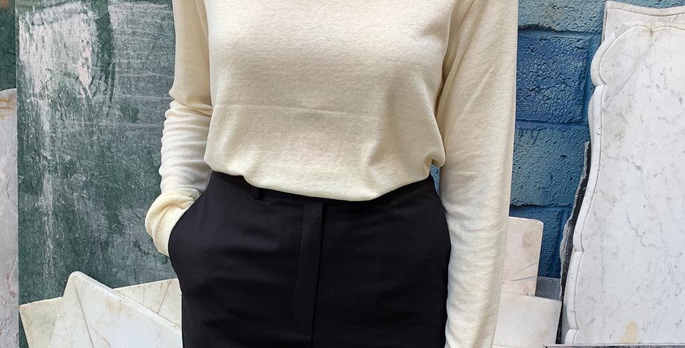 Tencel Long-sleeve T-shirt (3colors)