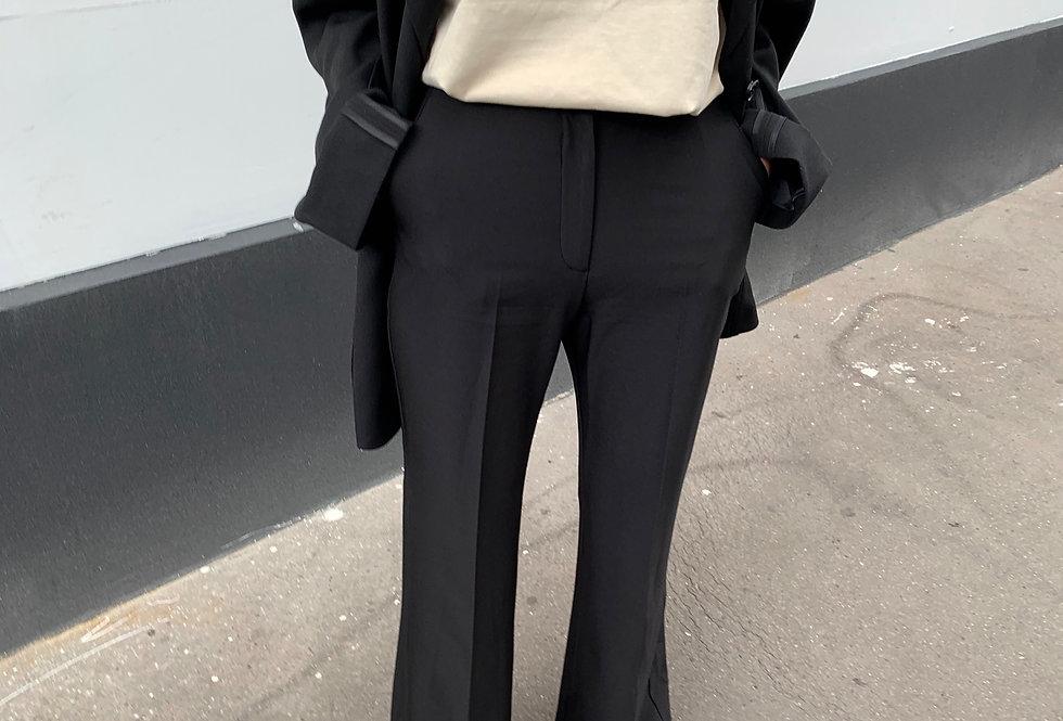 Kick Flare Trousers (2colors)