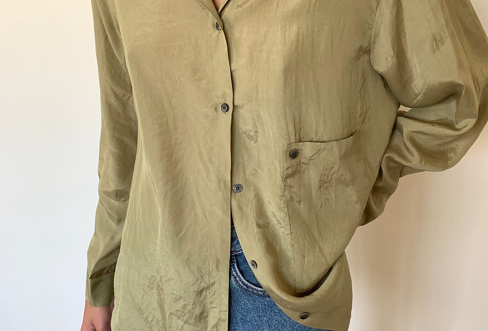 Oversized Classic Blouse (2colors)