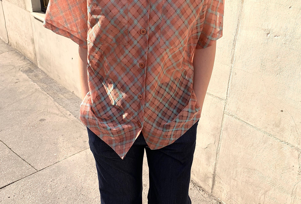 Oversized Checked Shirt