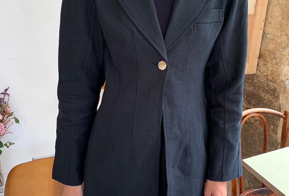 Linen Set Blazer (2colors)