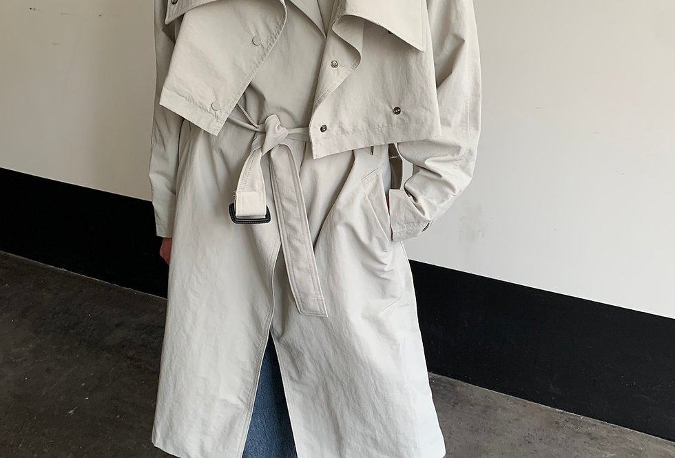 Convertible Trench Coat