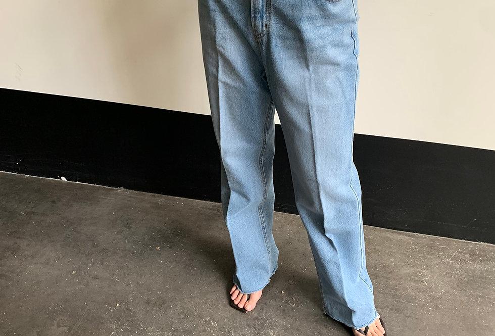 Raw-cut Jeans