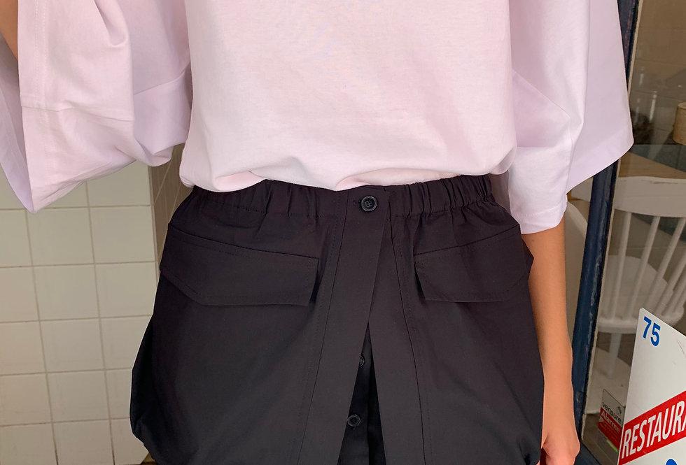 Button Mini Skirt (2colors)