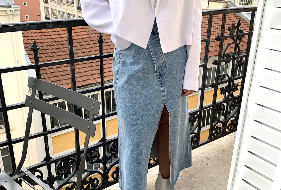 Linen Blend Cropped Blazer (2colors)