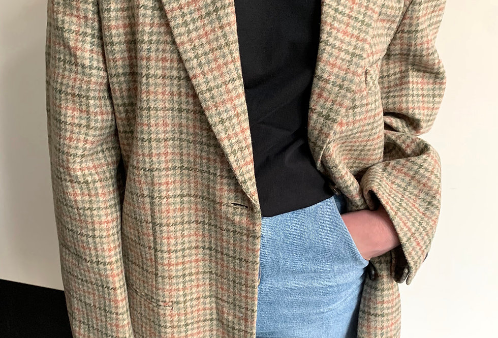 Oversized Tweed Jacket
