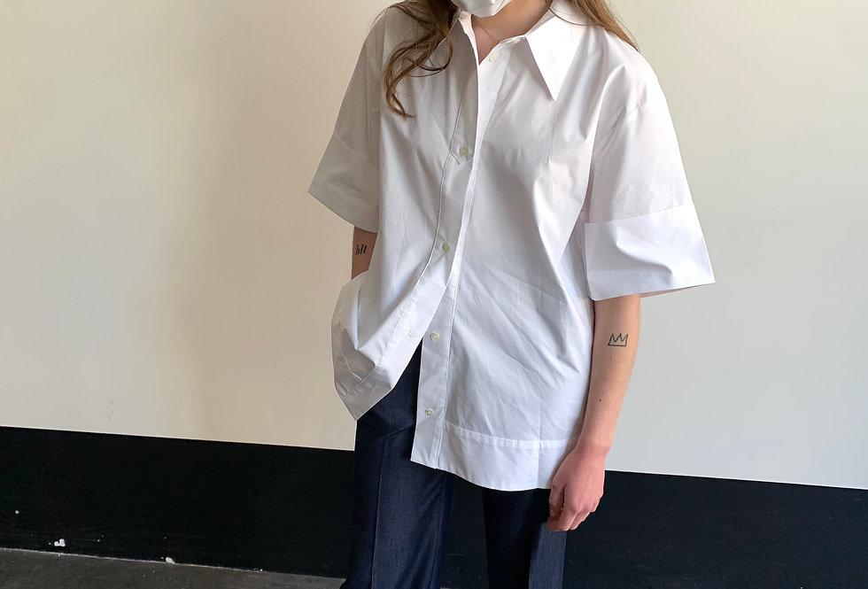 Boxy Button Up Shirt