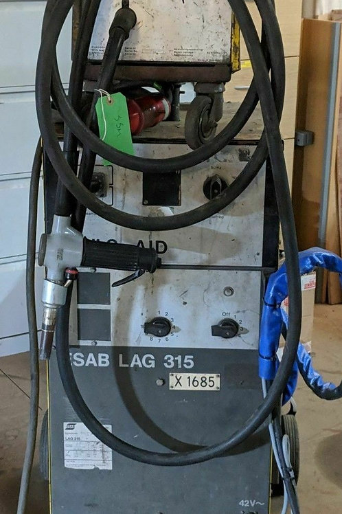 ESAB LAG 315 Air Cooled MIG Welder - Used