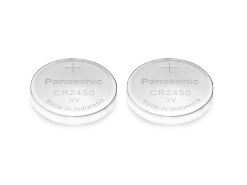 CR2450 Lithium Battery for ESAB Sentinel Welding Mask - 2 Pack