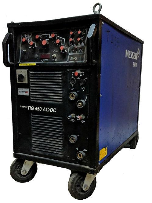 EWM Messer Griesheim Inverter TIG 450 AC/DC TIG Welder - Used
