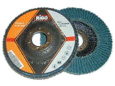 """Flap Disc 4 1/2"""" G40 - RIGO Zirc 230mm"""